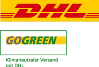 klimaneutral versand, co2 sparend, go green dhl