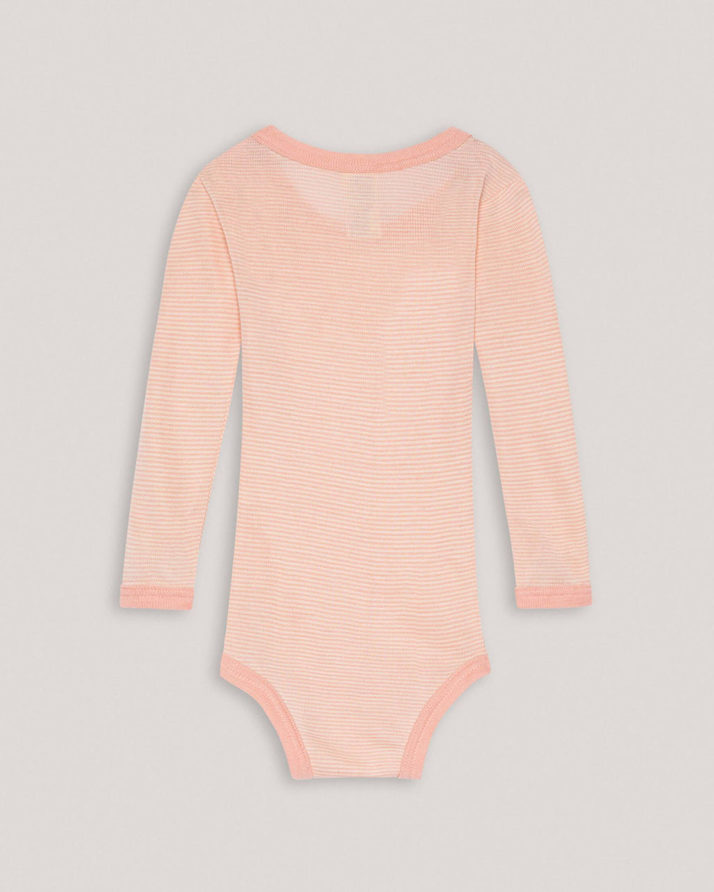 variant_3 | EN Pink Baby Longsleeve Body with Stripes ENGEL | DE Rosa Baby Langarmbody Body mit Streifen ENGEL