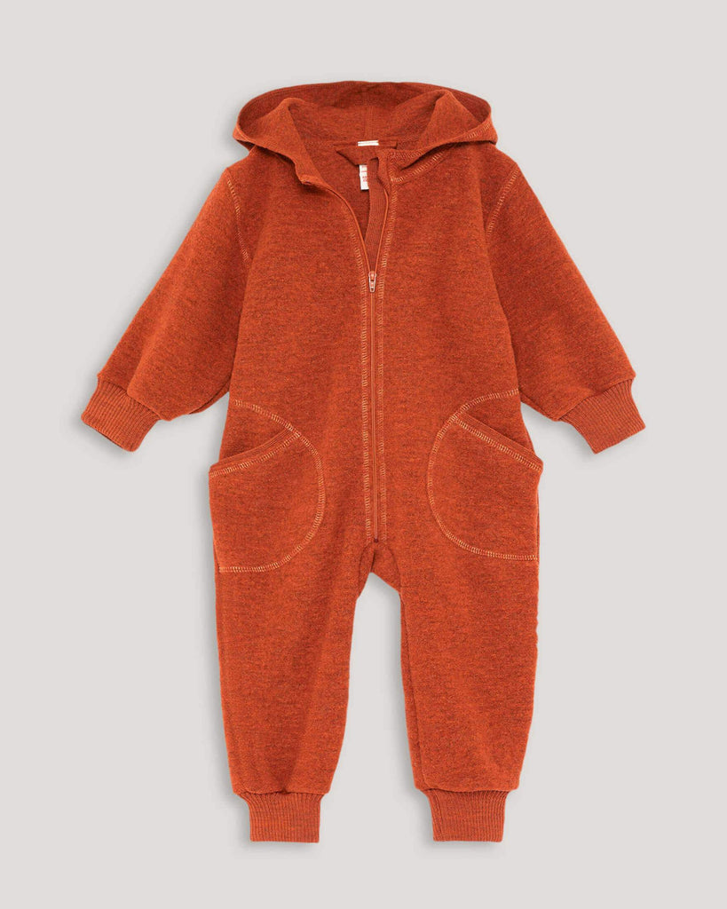 Orange Overall Baby Kinder mit Kapuze
