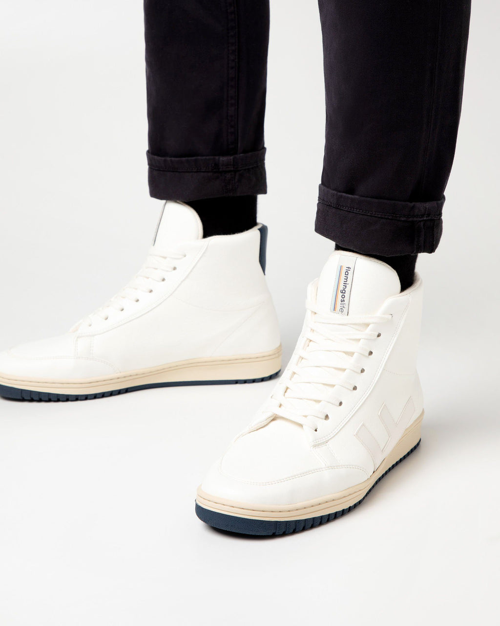 variant_1 | EN White Boots Shoes Men | DE Weiß Boots Herren Turnschuhe