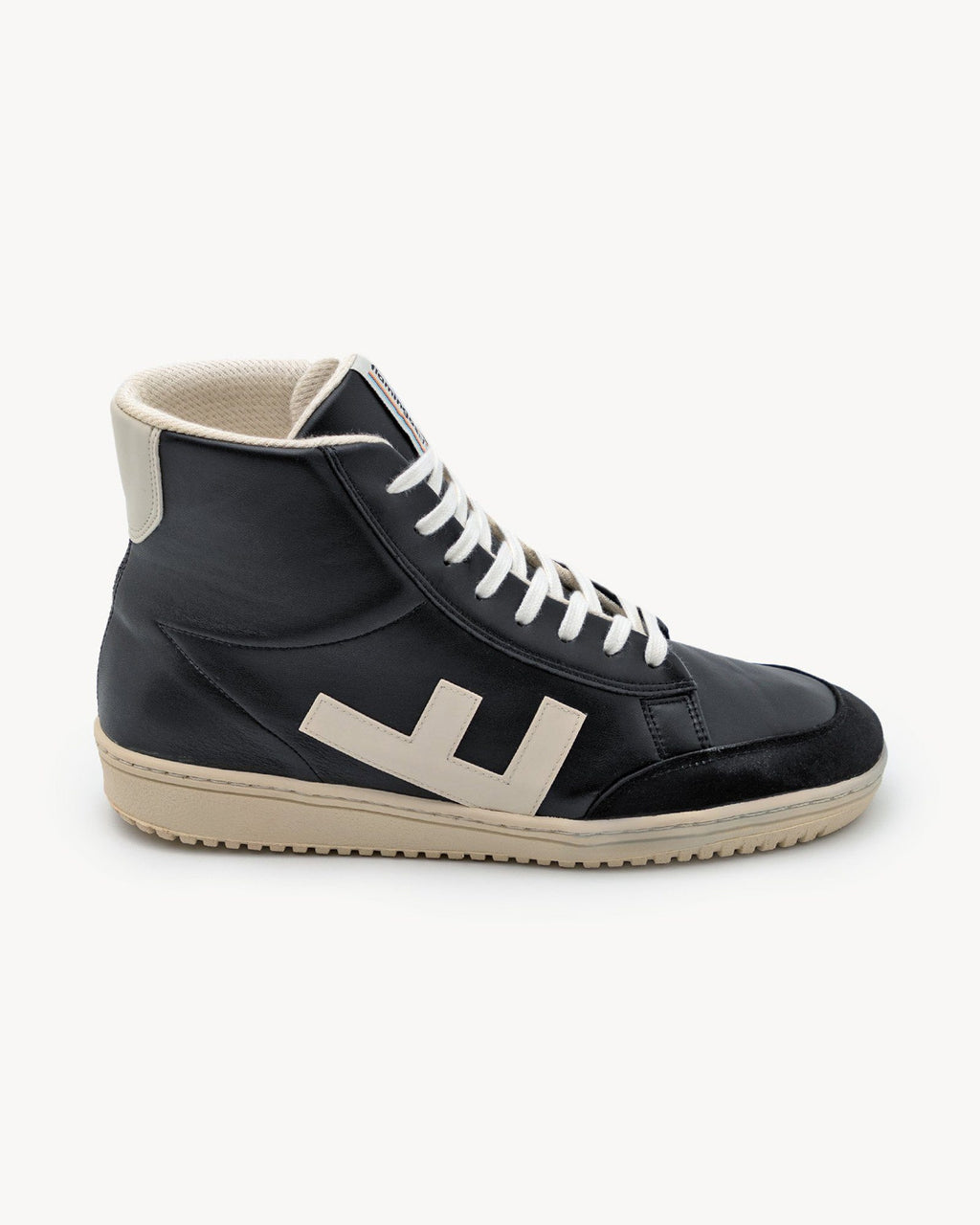 variant_1 | EN High Sneakers Black Shoes Men | DE Schwarze High Sneakers Boots Herren Turnschuhe