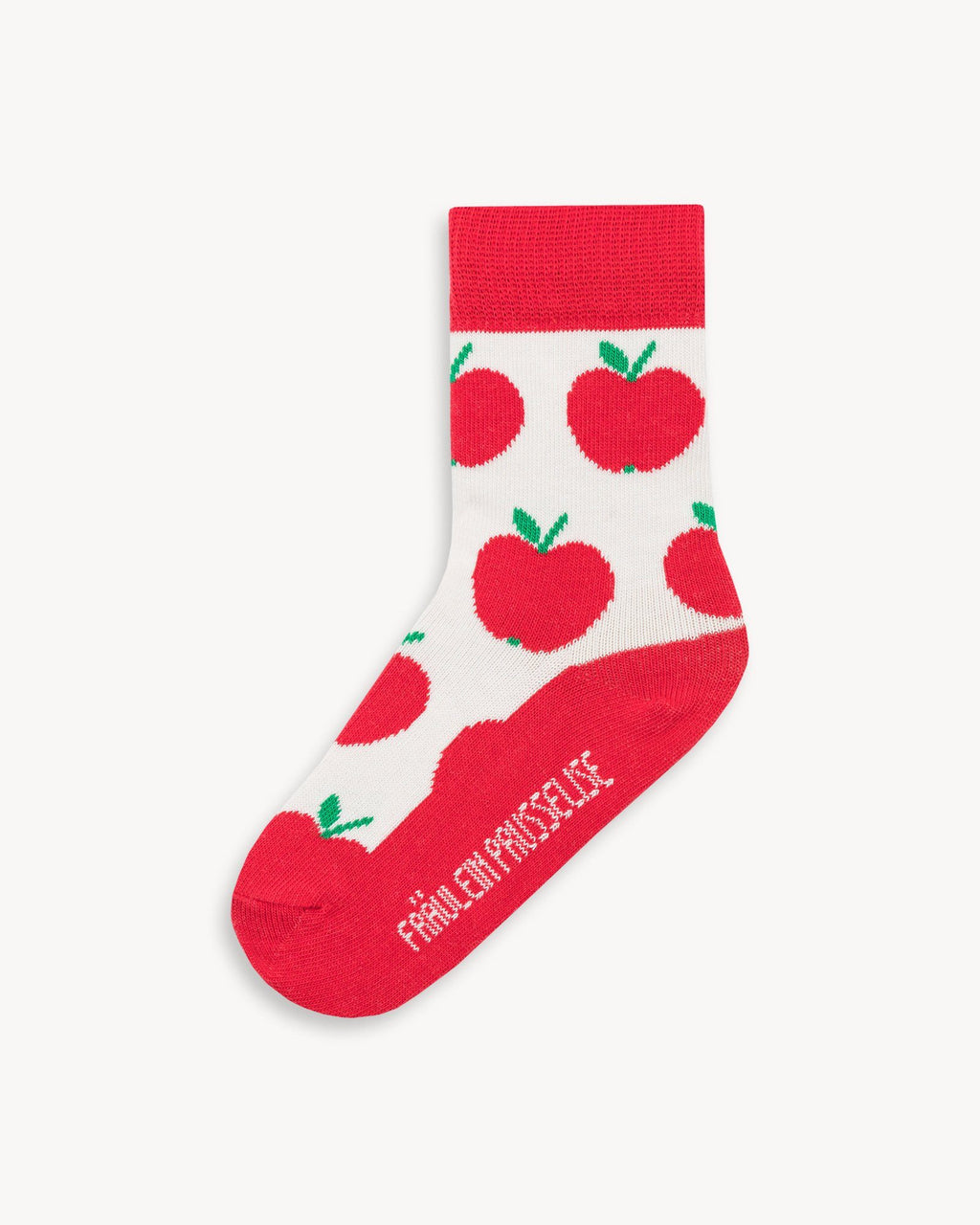 variant_3 | EN Red Socks with Print Kids | DE Rote Socken mit Print Kinder