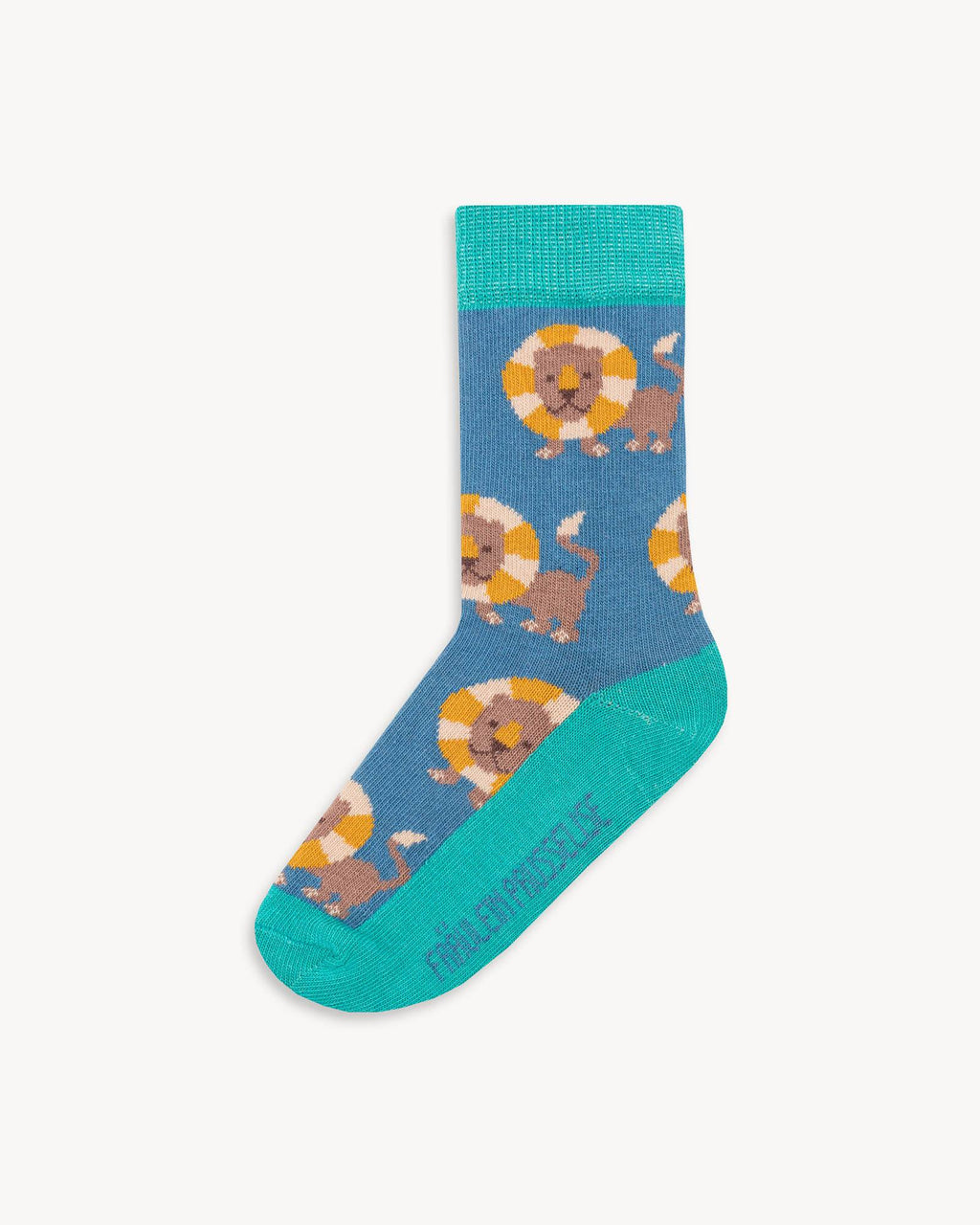 variant_6 | EN Blue Socks with Print Kids |  DE Blaue Socken mit Print Kinder
