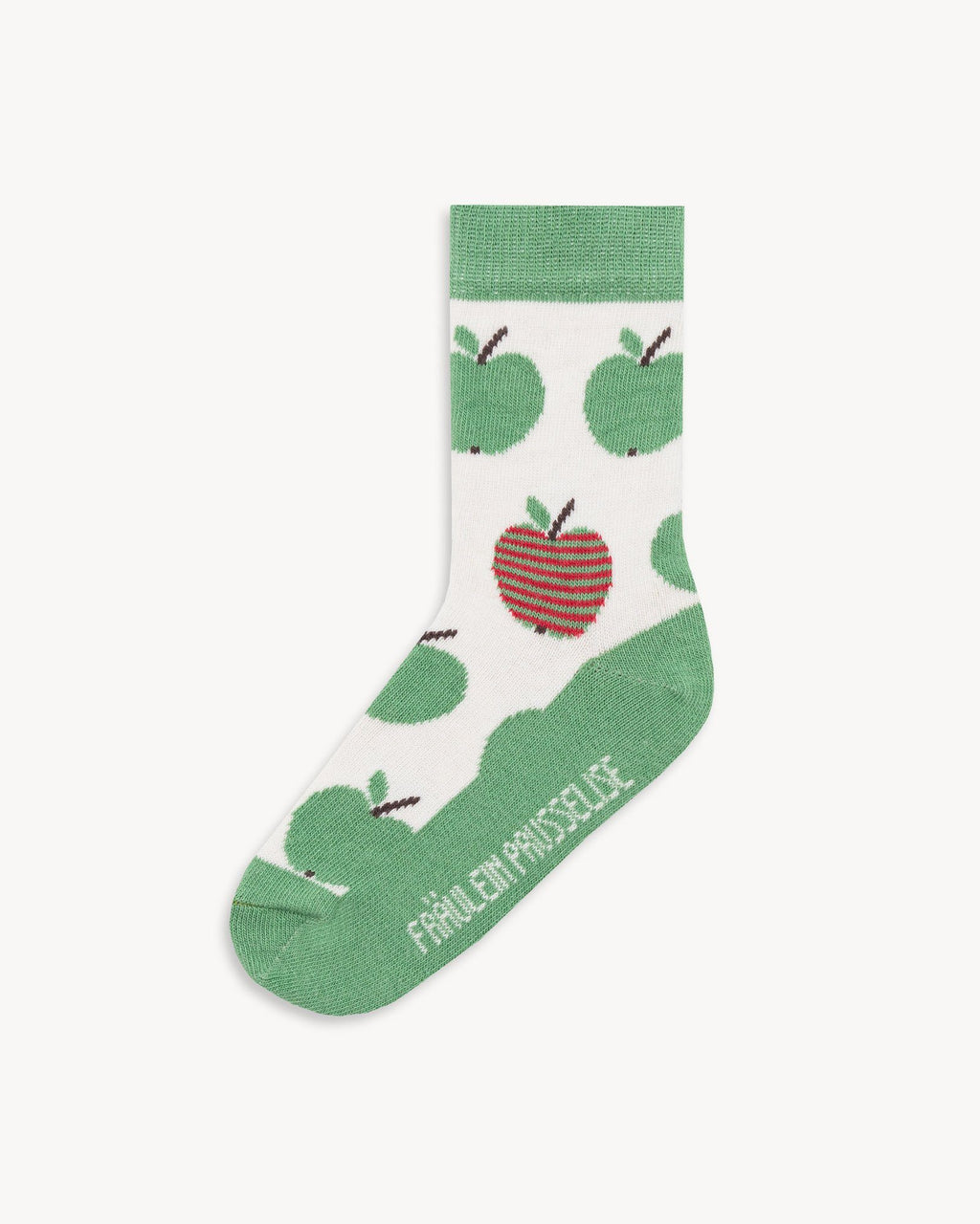 variant_1 | EN Green Socks with Print Kids | DE Grüne Socken mit Print Kinder
