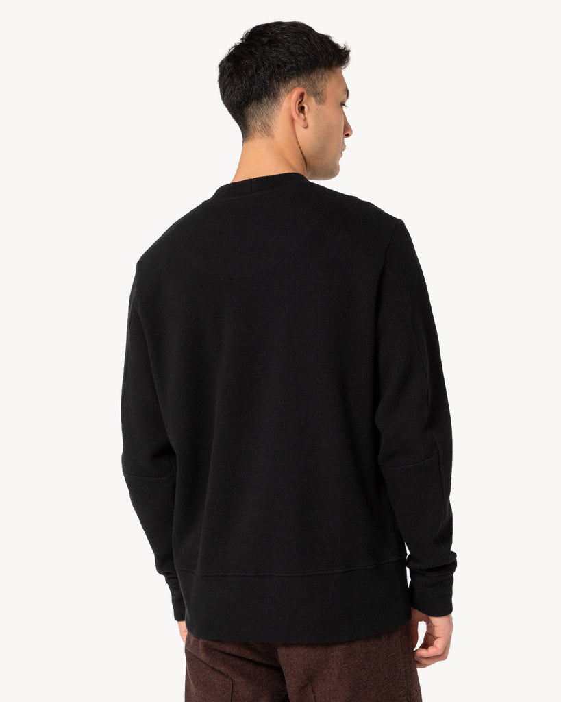 Black Jumper Pullover Men FRISUR