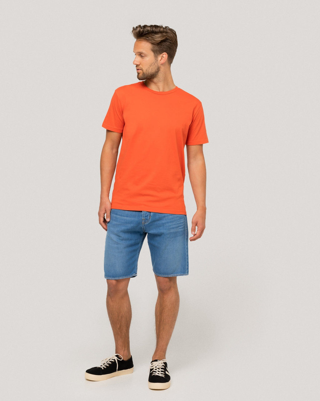 variant_1 | EN Blue Bermuda Shorts Denim Jeans Men Kings of Indigo | DE Blaue Bermuda Jeans Shorts Herren Kings of Indigo