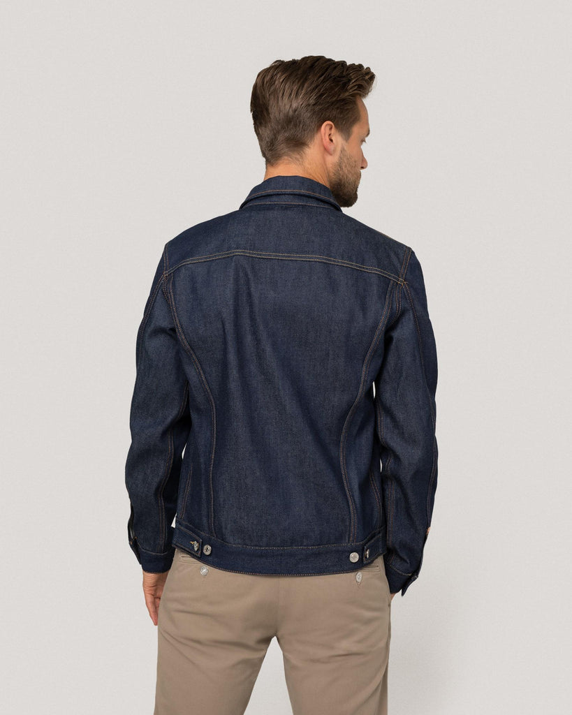 Blaue Jeansjacke Herren Kings of Indigo