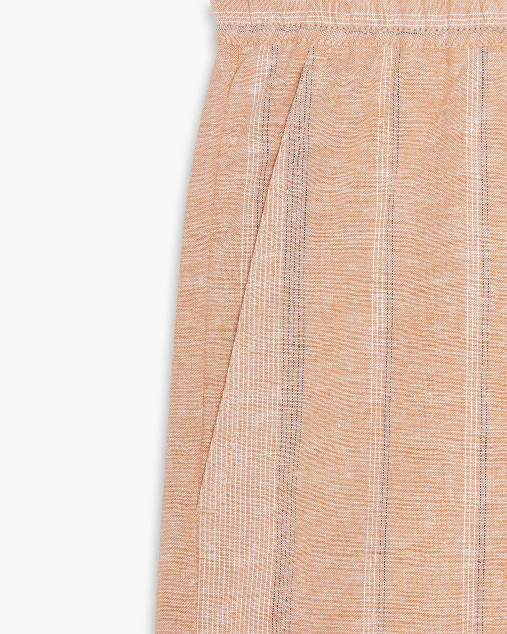 variant_1 | EN Shorts Beige with Stripes Women LANIUS | DE Shorts kurze Hose Beige mit Streifen Damen LANIUS
