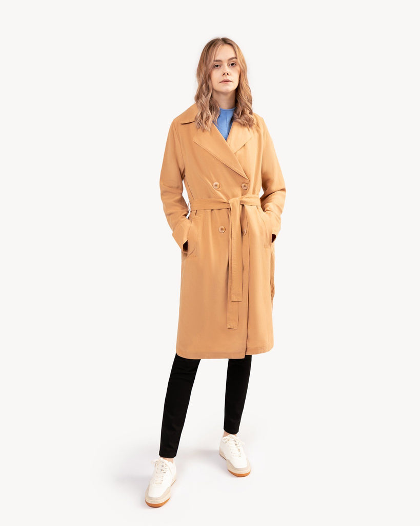 Trenchcoat Beige Women LANIUS