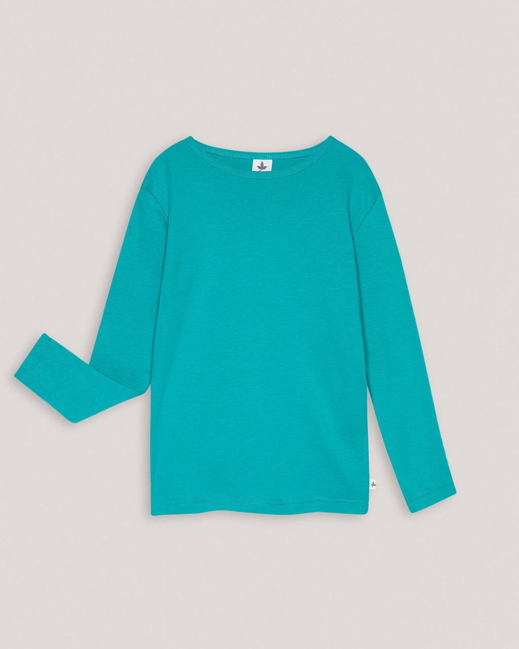 variant_2 | EN Organic Green basic longsleeve sweater for babies and kids | DE Bio Grüner langarmliger sweater für babies und kids