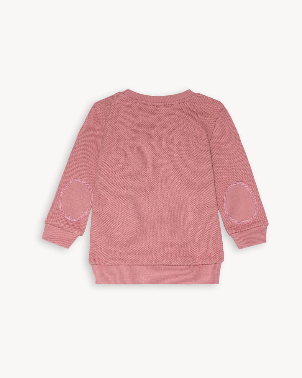 variant_2 | EN Dusty Pink Sweatshirt for Kids and Baby Pique | DE Rosa Pink Pique Sweatshirt for Baby und Kinder