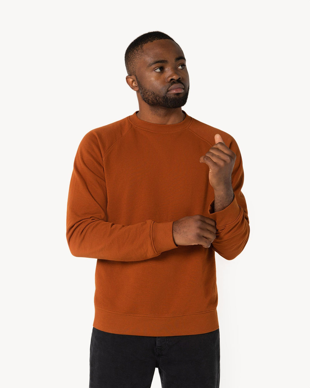 variant_1 | EN Orange Sweatshirt Men | DE Sweatshirt Orange Herren