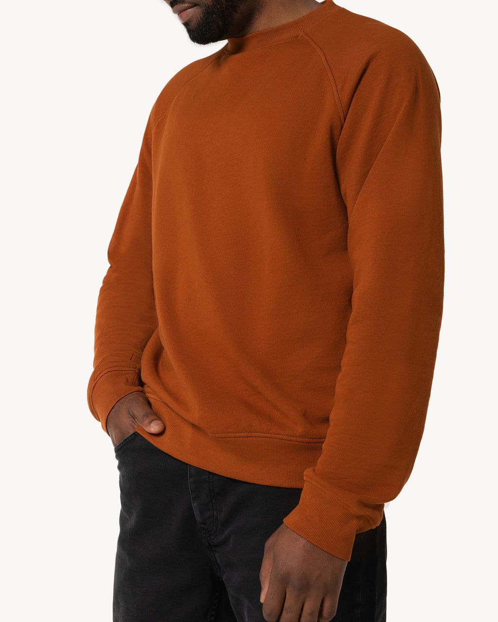 variant_2 | EN Orange Sweatshirt Men | DE Sweatshirt Orange Herren