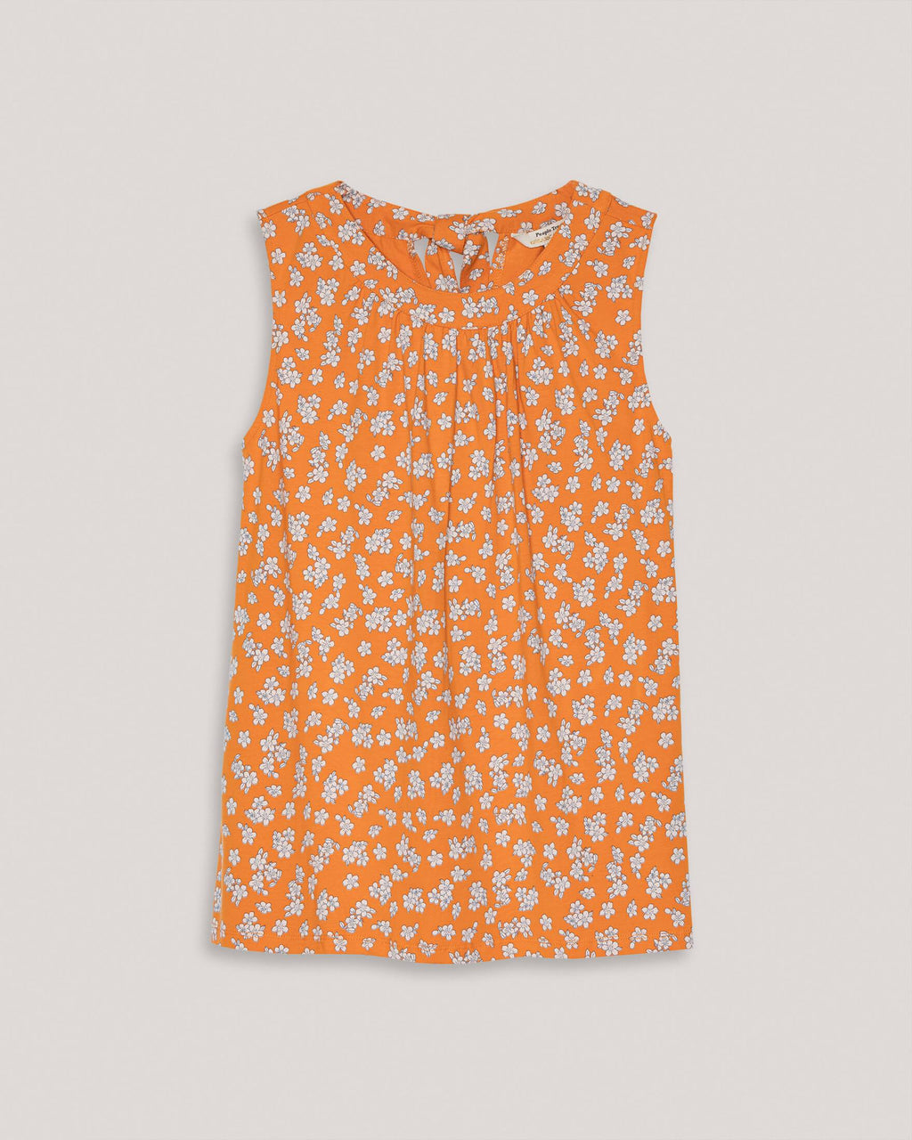 variant_1 | EN Top with Flowers Orange Women People tree | DE Top Oberteil mit Blumen Orange Damen People tree