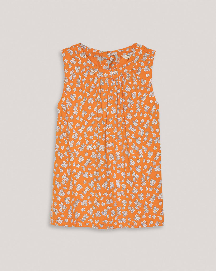 Top Oberteil mit Blumen Orange Damen People tree