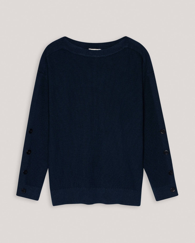 Pullover Strickpullover Blau Damen People Tree