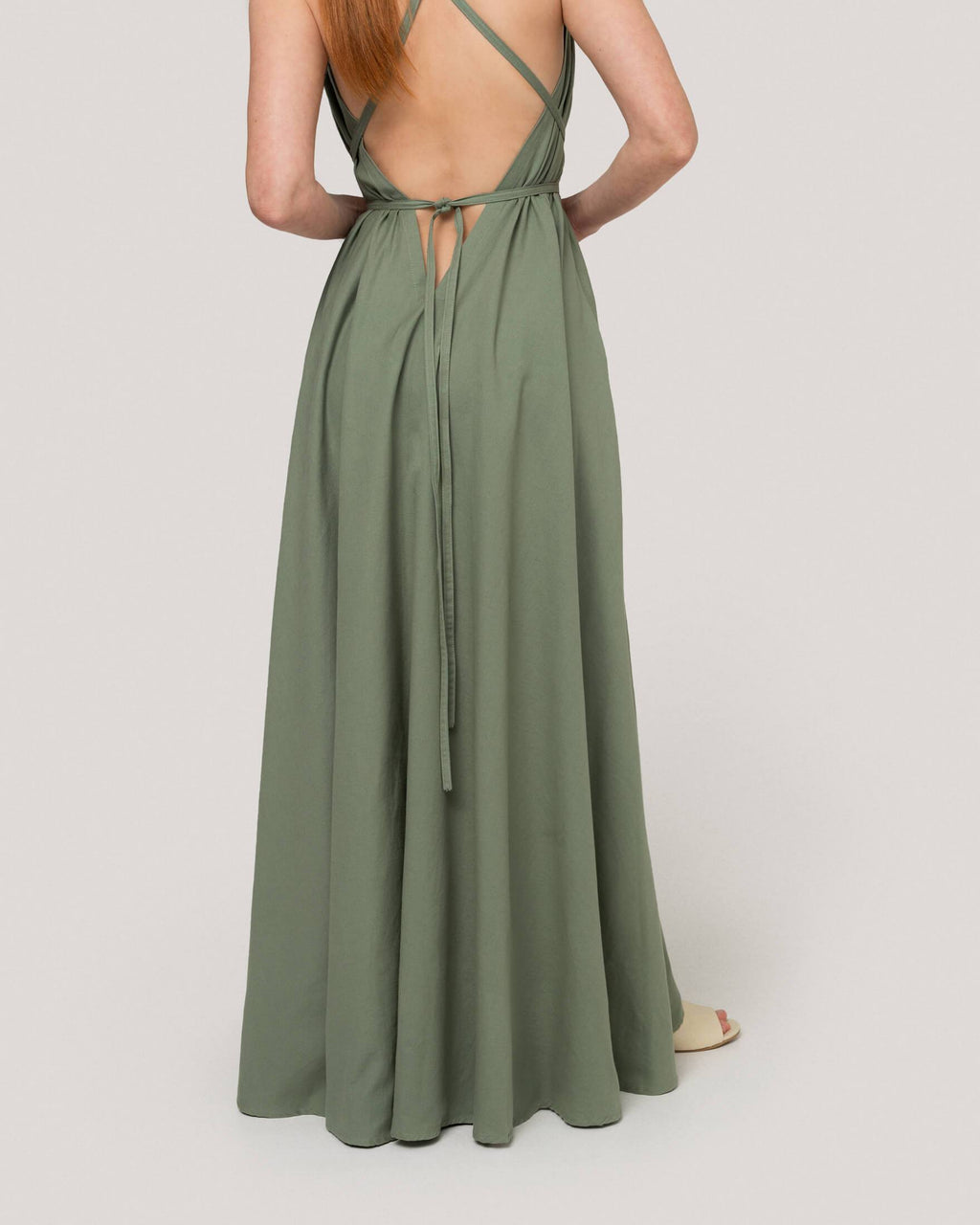 variant_3 | EN Green Dress Summer Women Suite13 | DE Grünes Kleid Lang Damen Suite13