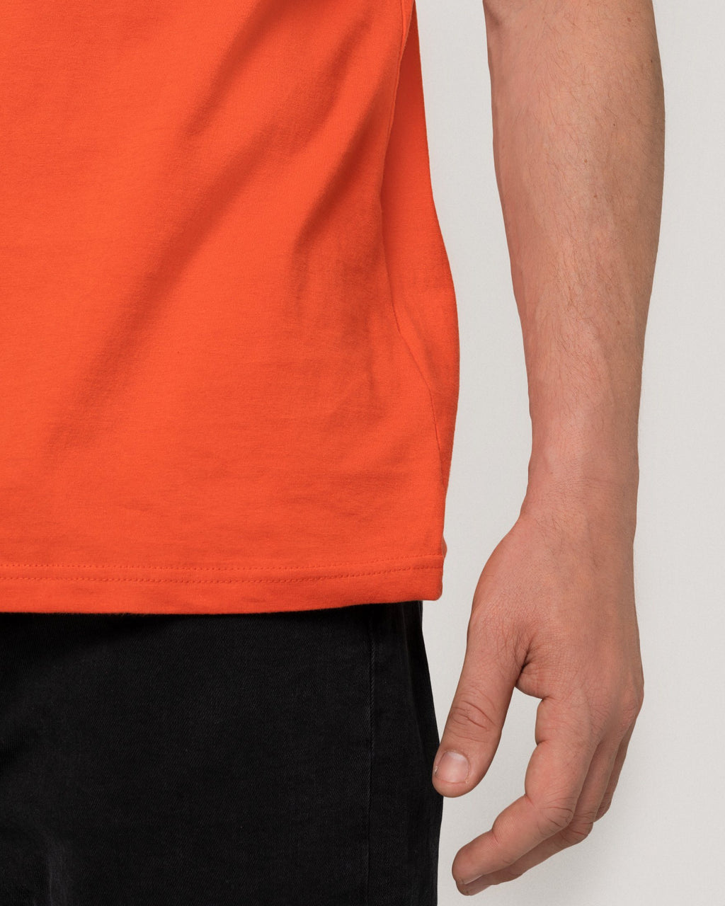 variant_2 | EN Shirt Basic Orange Men ThokkThokk | DE T-Shirt Basic Orange Herren ThokkThokk