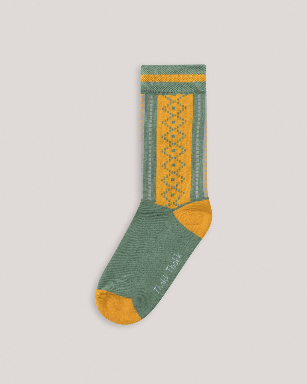 variant_1 | High Socks Yellow Green Women ThokkThokk | DE Socken Gelb Grün Damen ThokkThokk