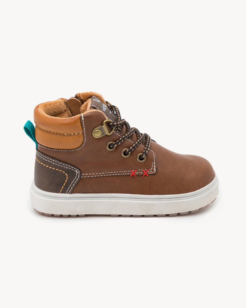 Kinder Boots vegan braun Victoria Shoes