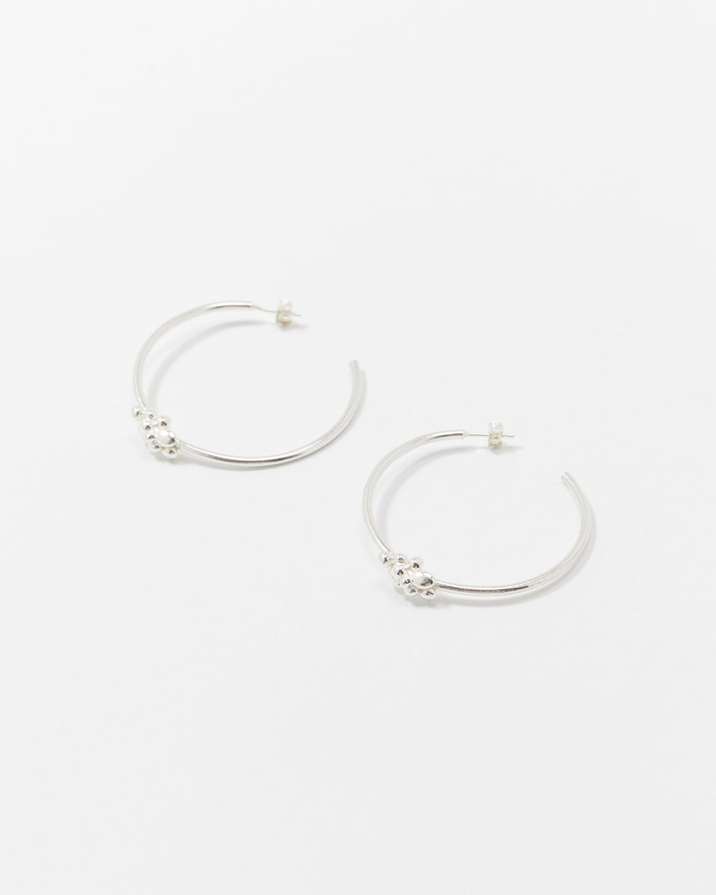 variant_1 | EN Silver Earrings Hoops Handmade Women Wildfawn | DE Silberne Ohrringe Creolen Handgemacht Damen Wildfawn