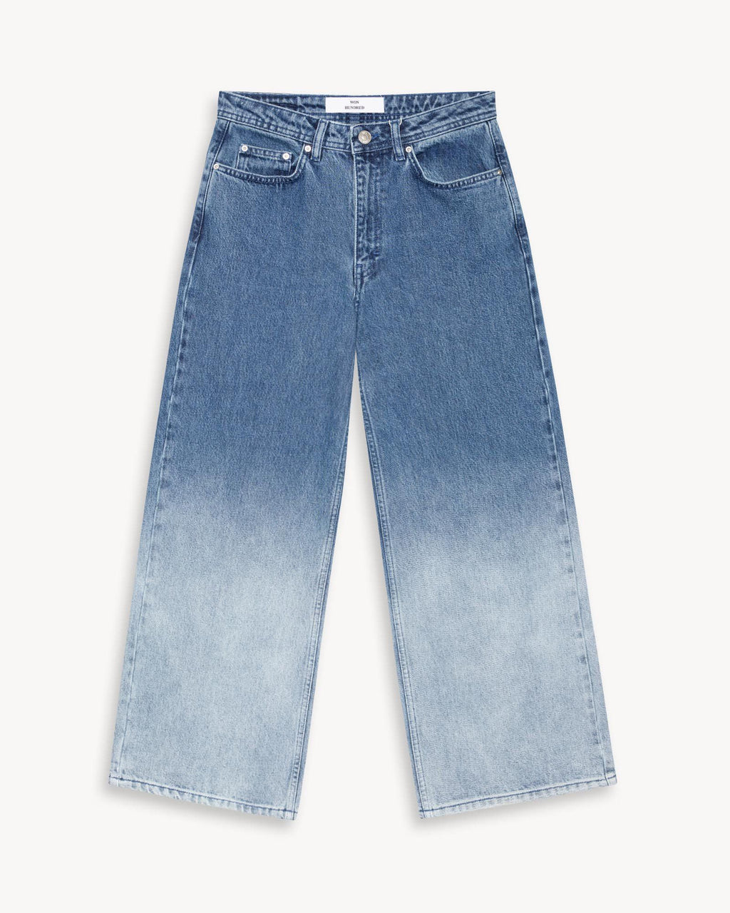 variant_1 | EN Blue High Waist Jeans Women won hundred | DE Jeanshose Highwaist Damen won hundred