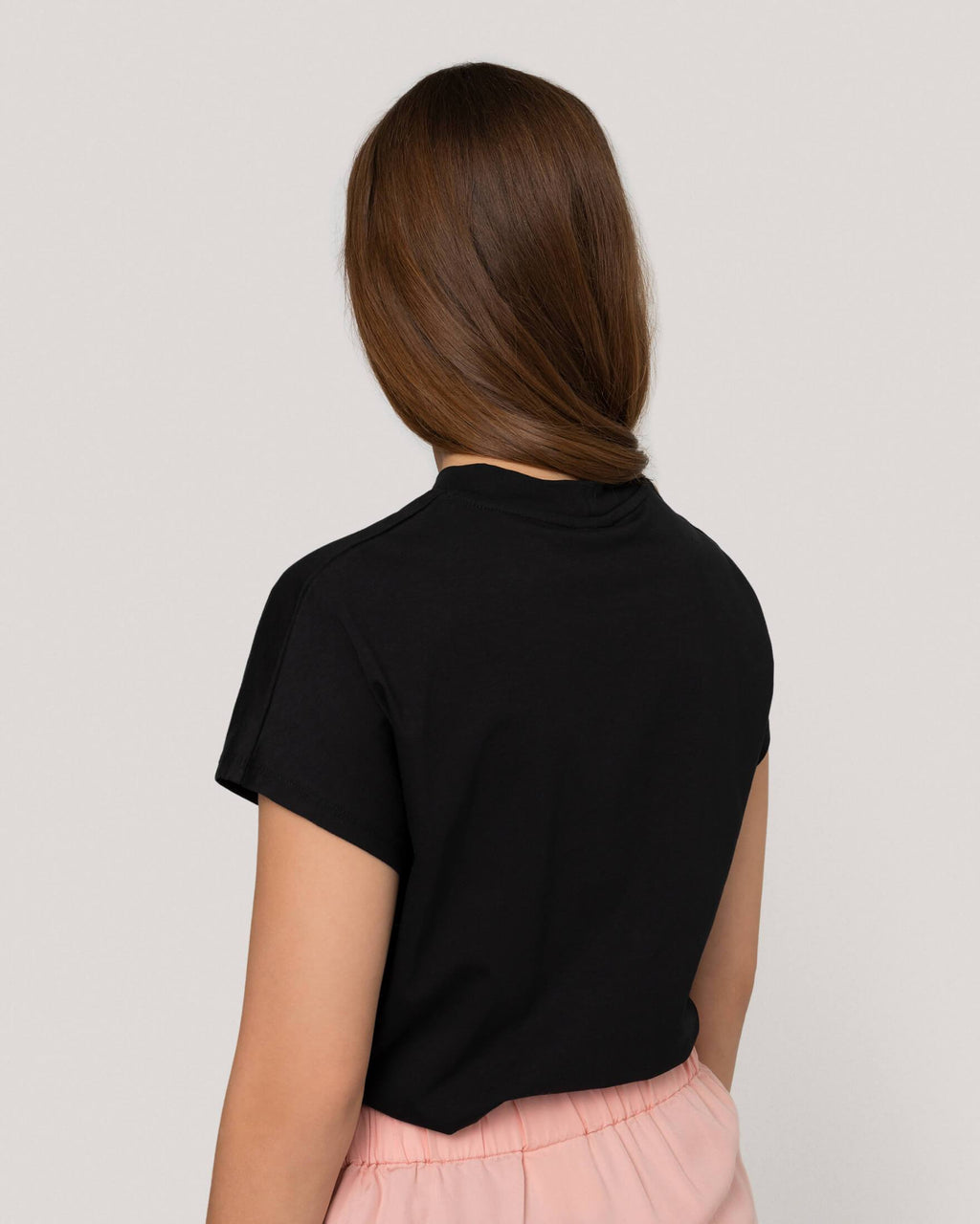 variant_1 | EN Shirt Basic Black Women won hundred | DE T-Shirt Basic Schwarz Damen won hundred