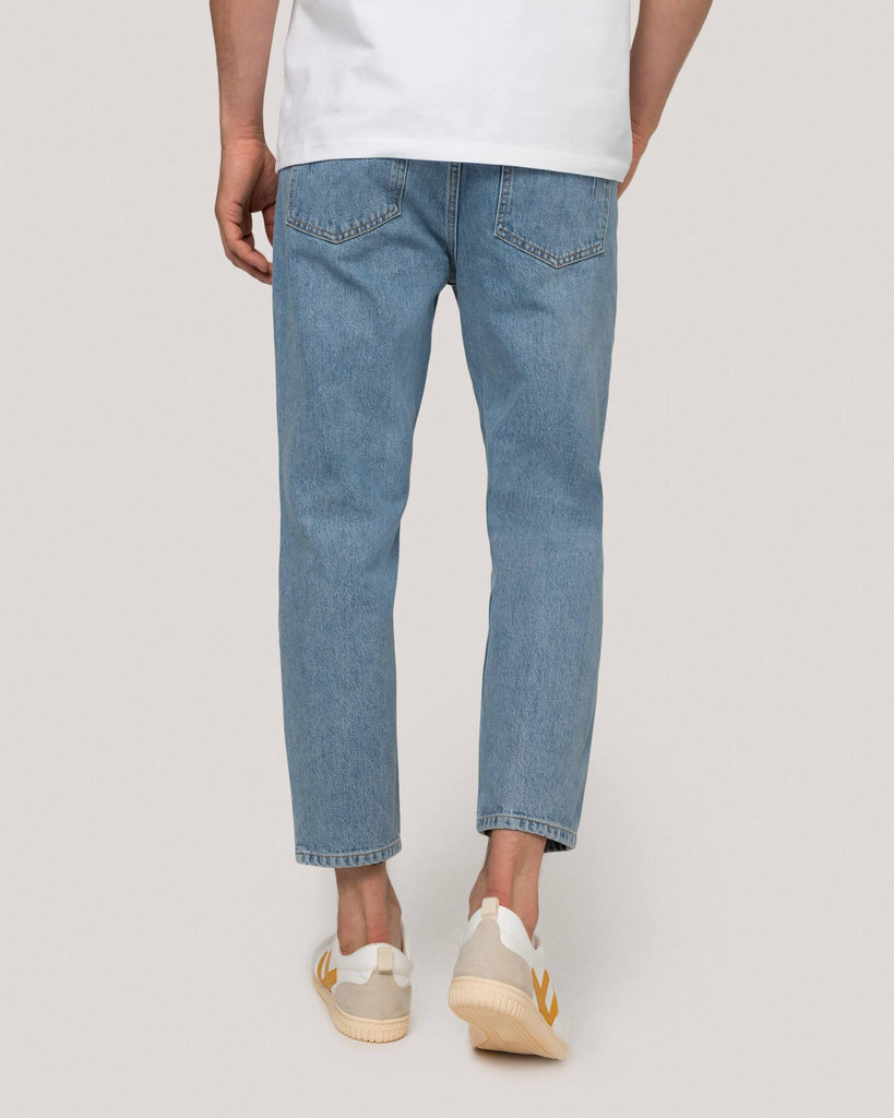 Blaue Jeans Hose Herren won hundred