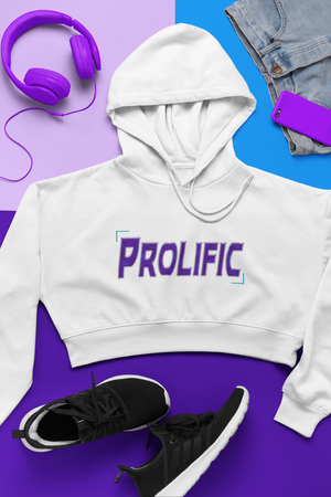 Prolific Cropped Hoodie
