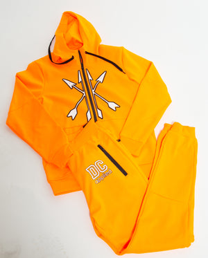 2 piece Out the Mud Jogger set Orange