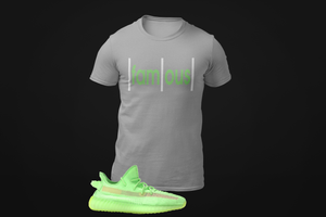 Men's Famous T-Shirt to match Yeezy 350 Boost V2 Glow