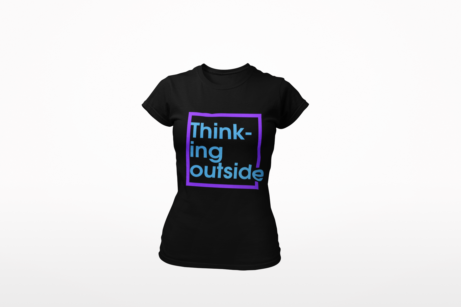 Ladies 'Outside the Box' T Shirt