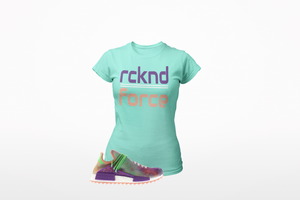 rcknd Force T-Shirt to match adidas Human Race NMD Pharrell Holi Festival (Chalk Coral)