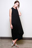 Gypsies-Sleeveless-Oversized-Casual-Maxi-Dress-Raquel-Allegra-Kaftan-Dres-Zara-Long-Dress-Rachel-Pally-Maxi-Dress-Shopbop-topshop-nordstrom-miss-selfridge-house-of-frasier-whistles-black-side view