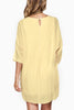 Michal-3/4-Sleeve-Shift-Tunic-Dress-Linen-Asos-Nasty-Gal-Shopbop-Topshop-Urban-Outfitters-Revolve-Clothing-Nordstrom-Miss-Selfridge-zara-zalando-tory-burch-need-supply-Mod-Cloth-pastel-Yellow-back view