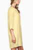 Michal-3/4-Sleeve-Shift-Tunic-Dress-Linen-Asos-Nasty-Gal-Shopbop-Topshop-Urban-Outfitters-Revolve-Clothing-Nordstrom-Miss-Selfridge-zara-zalando-tory-burch-need-supply-Mod-Cloth-pastel-Yellow-side view