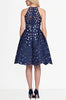 Piano-Flare-Dress-White-Blue-Laser-Cut-Cut-Out-Fit-Flare-Cocktail-Party-Dress-Formal-Sleeveless-Style-Stalker-Shopbop-Topshop-Zara-Nasty-Gal-Revolve-Clothing-Nordstrom-The-Iconic-Miss-Selfridge-Zalando-back view