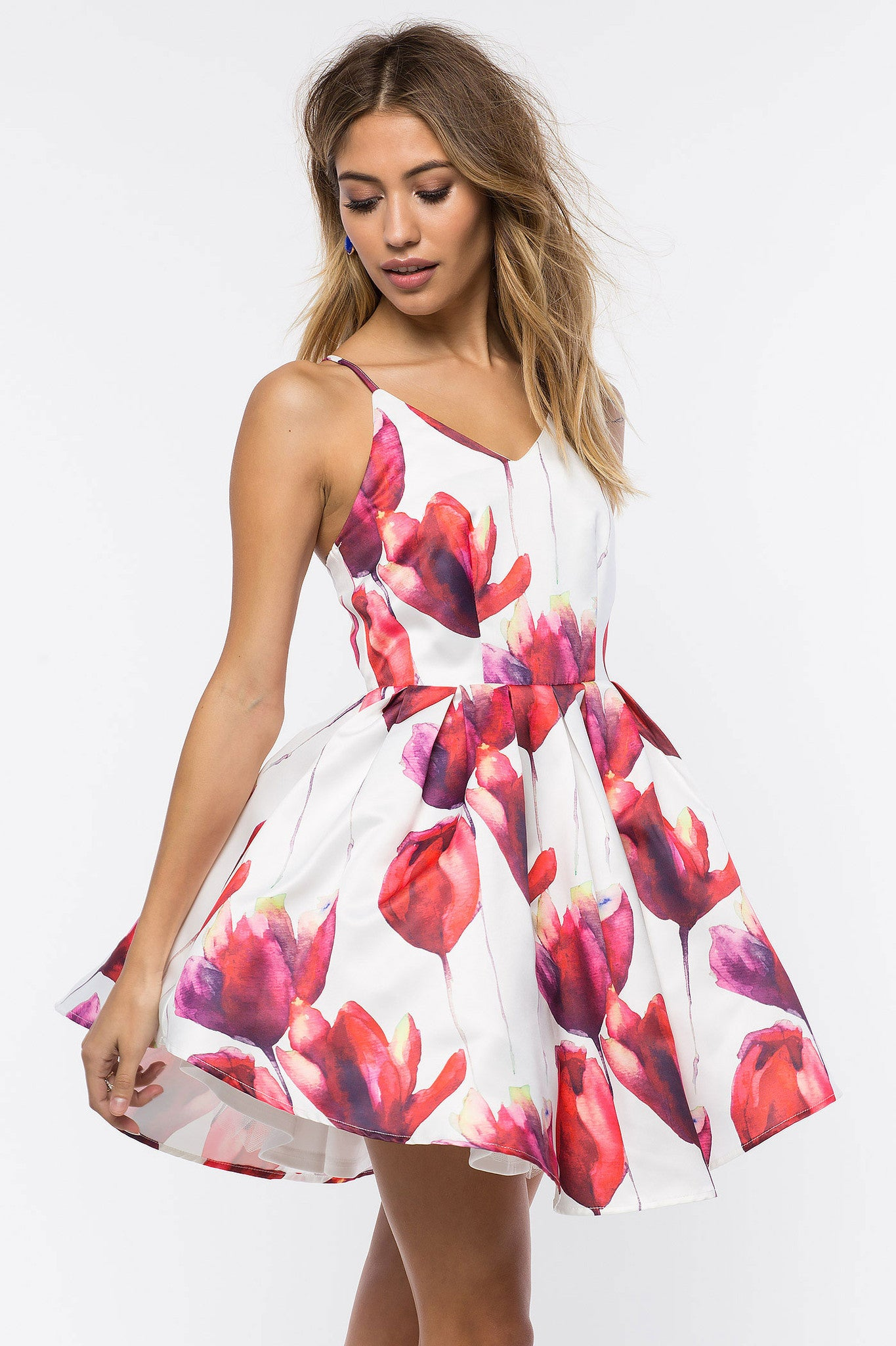 And Flare Party Dresses