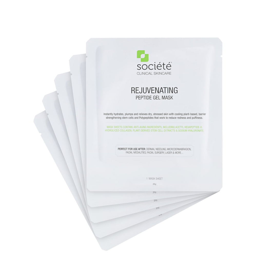Rejuvenating Peptide Mask Box of 5