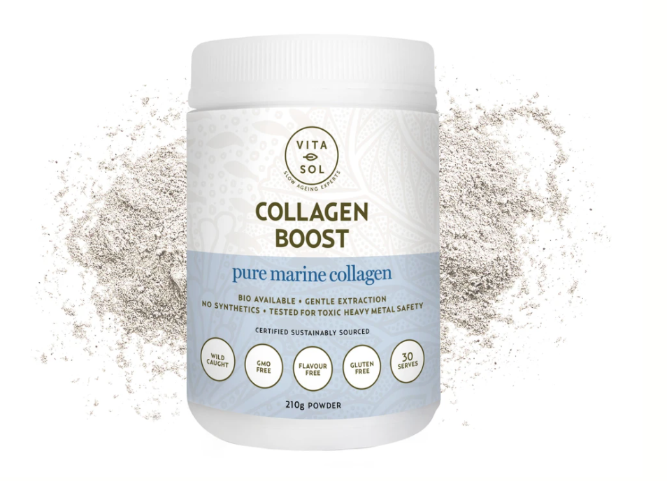 Collagen Boost - 100% Pure Marine Collagen Peptides