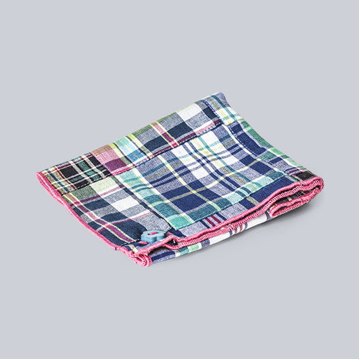 Armstrong & Wilson - Multicolored Cotton Pocket Square