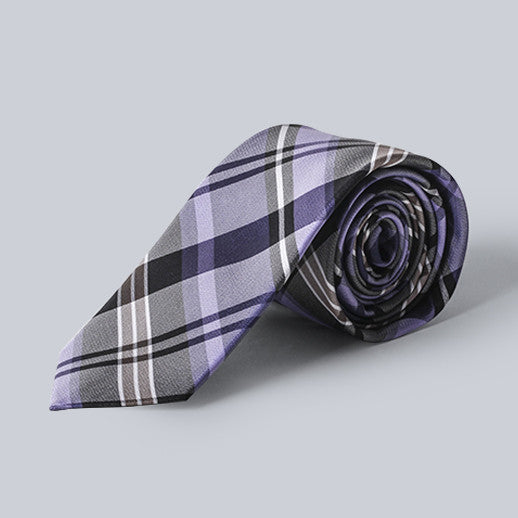 Ben Sherman- Plaid Silk Tie