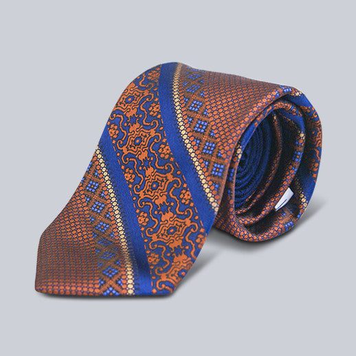 Robert Graham- Striped Silk Tie