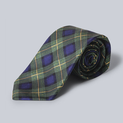 Southern Proper - Green Plaid Tie