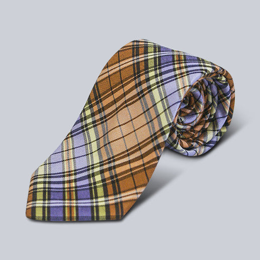Ted Baker- Orange Plaid Tie