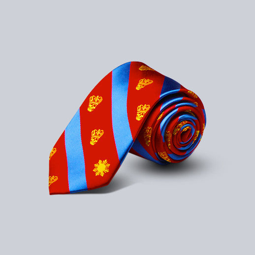VJNY- Striped Silk Tie