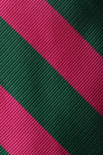 Brooks Brothers Green & Pink Striped Tie