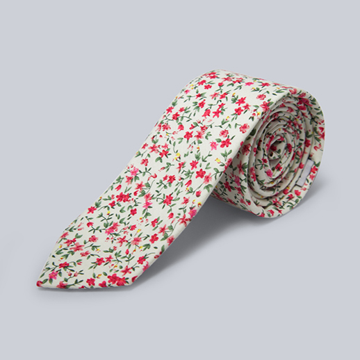 WINNERS CIRCLE Floral Neck tie