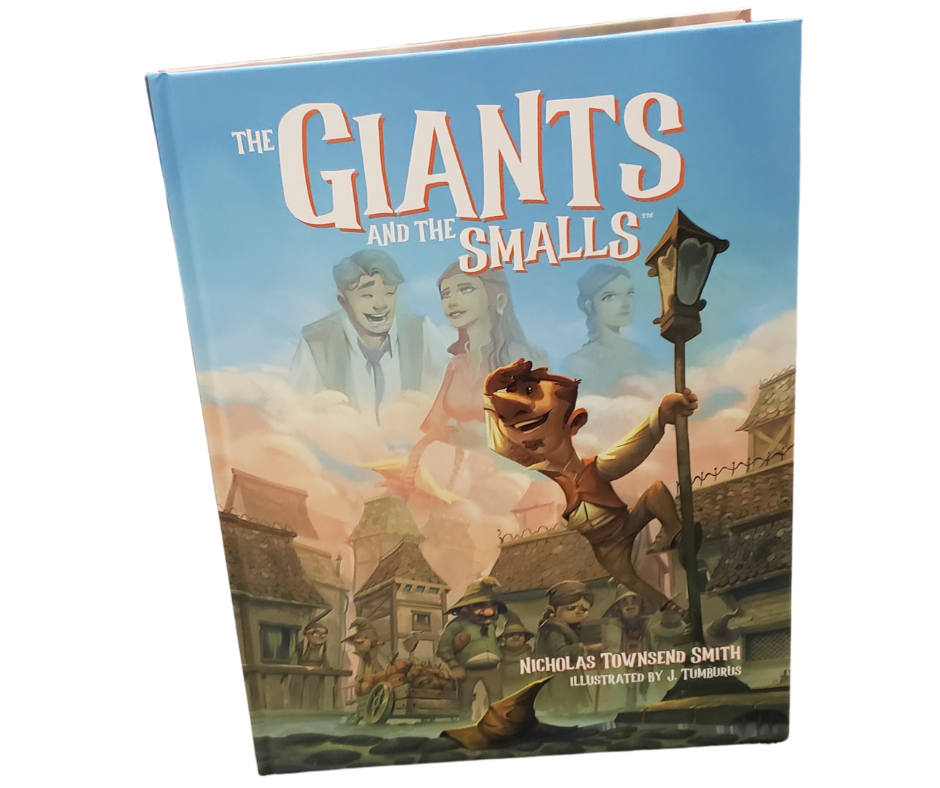 The Giants and the Smalls Hardcover Book
