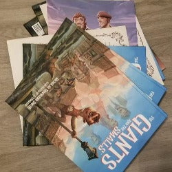 Giants and Smalls Hardcover Book- Flawed Batch.
